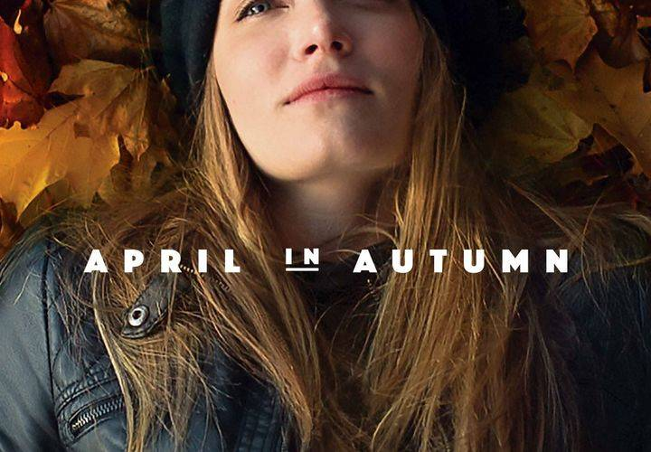 April in autumn poster