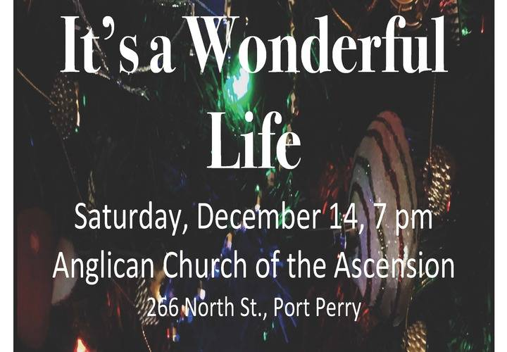 It s a wonderful life pop up poster