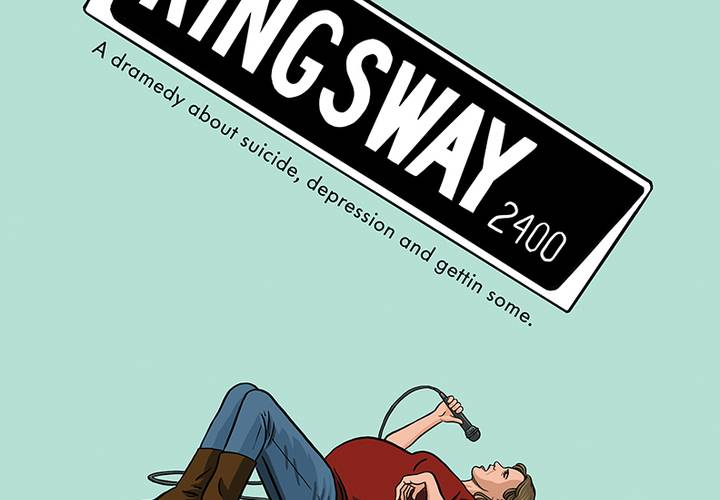 Kingsway 24x36 poster featuring