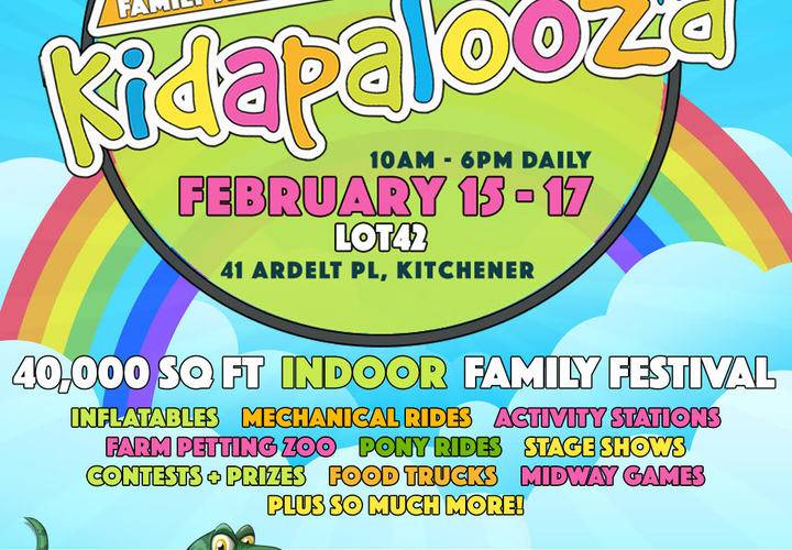Kidapalooza kitchener 2020