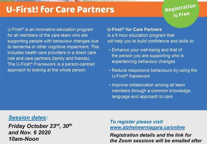 Ufirst for care partners