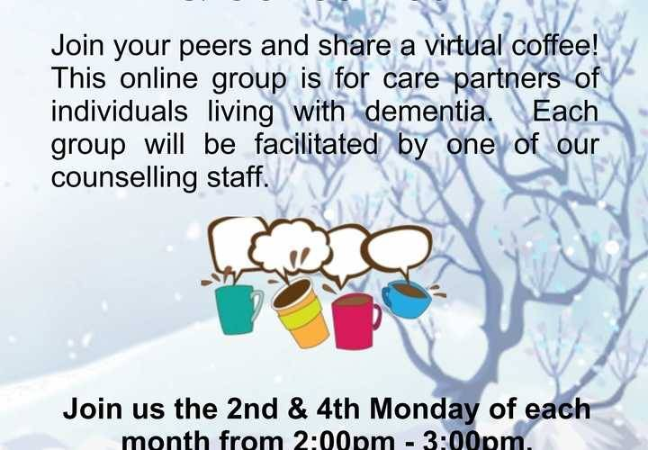 Caregiver support and coffee hour