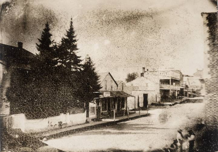 Main street  newmarket  taken in 1856