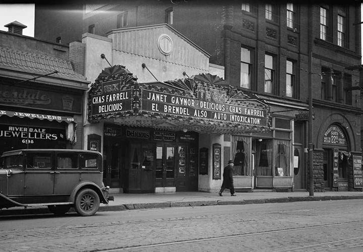 Teck theatre in 1932.