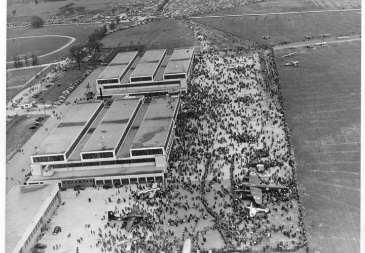 Downsview airshow 1946