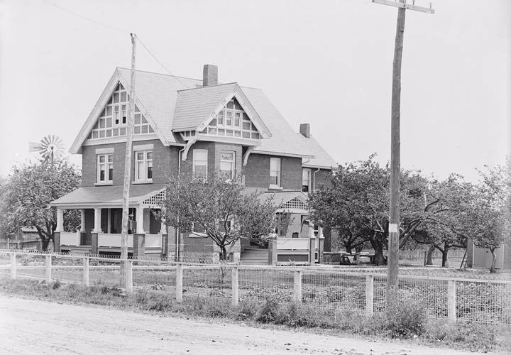 Richardson  john house 1908
