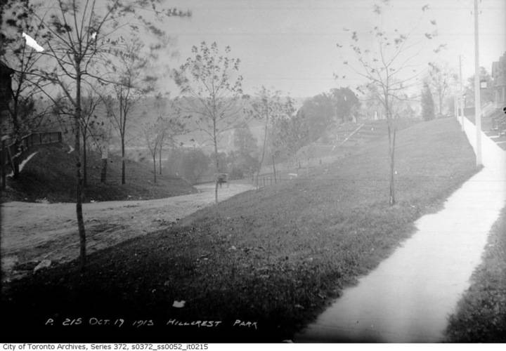 Hillcrest park  october 17  1913
