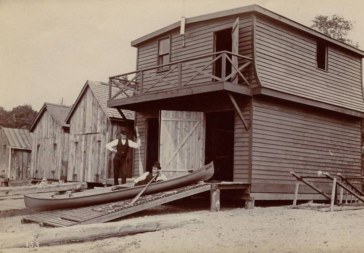 Parkdale canoe club boathouse  1888