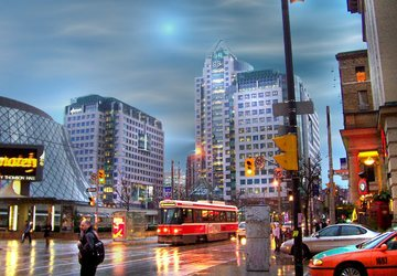 Downtown toronto header