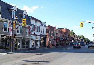 Markham village header