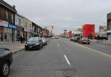 East danforth header