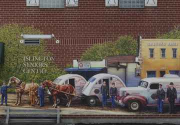 Islington village header