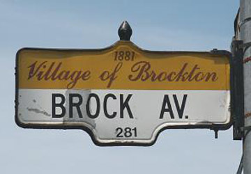 Brockton village